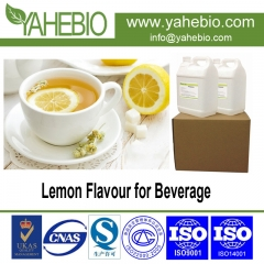 concentrated lemon flavour for beverage product